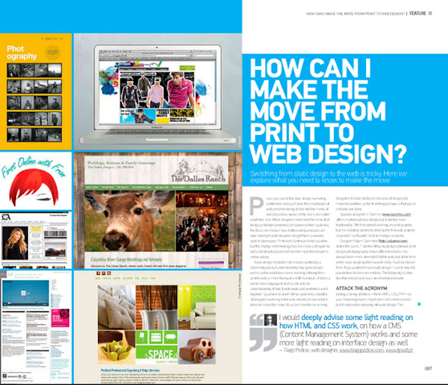 My Interview in Advanced Photoshop Magazine