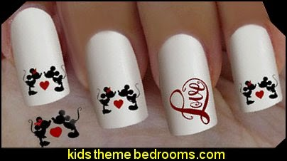 Minnie mouse - Mickey mouse nail art design,nail stickers