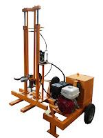 JUAL Electric Hydraulic Dutch Cone Penetrometer Electric Hidraulic Dutch Cone Penetrometer 10 TON