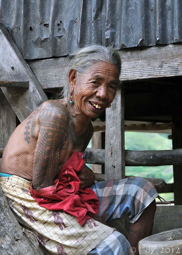 View thru My Global Lens: Kalinga - Part IV - Old Tattooed ...