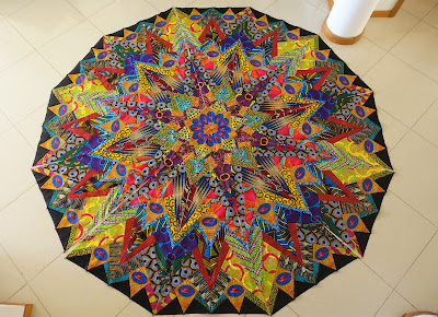 Another XXXL African Kaleidoscope in Process