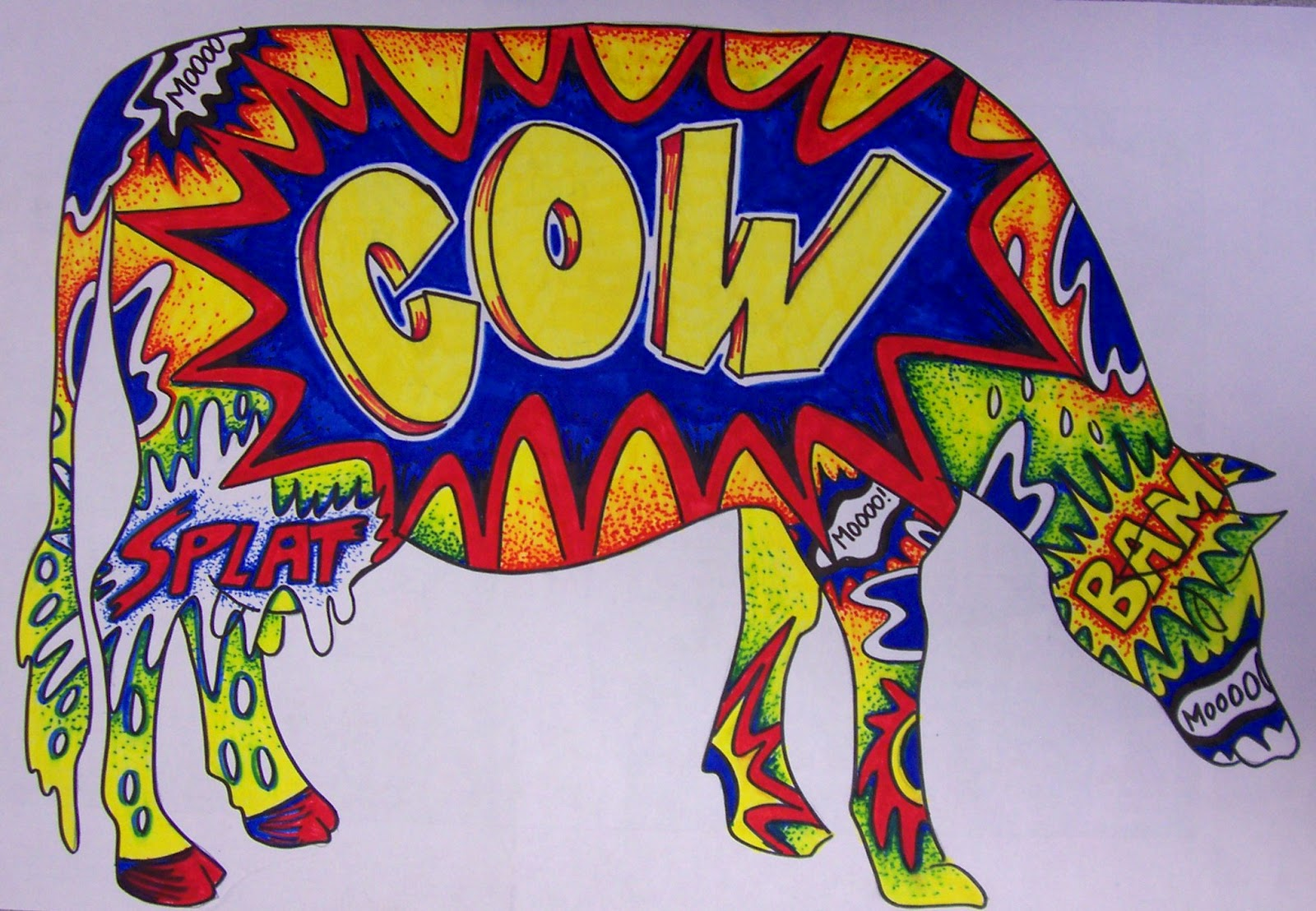 The Lost Sock Cow Parade In East Texas