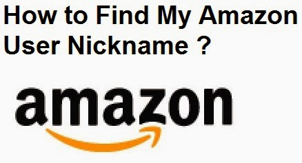 How to Find My Amazon User Nickname : eAskme
