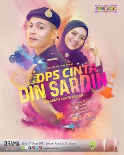 Sinopsis Drama Ops Cinta Din Sardin Lakonan Izzue Islam & Mira Filzah