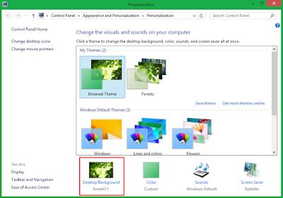 Download dan Cara Ganti Background Dekstop Windows 8+ 9
