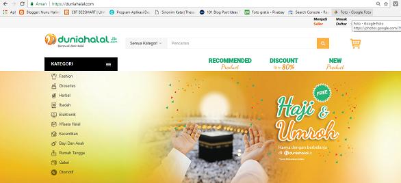 Duniahalal.com, Belanja Online Halal Untuk Mendukung Halal Lifestyle