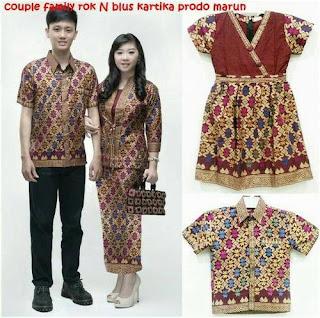 Model Baju Batik Couple Yang Bagus