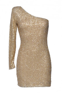 Ax Paris, Gold Sequin Dress