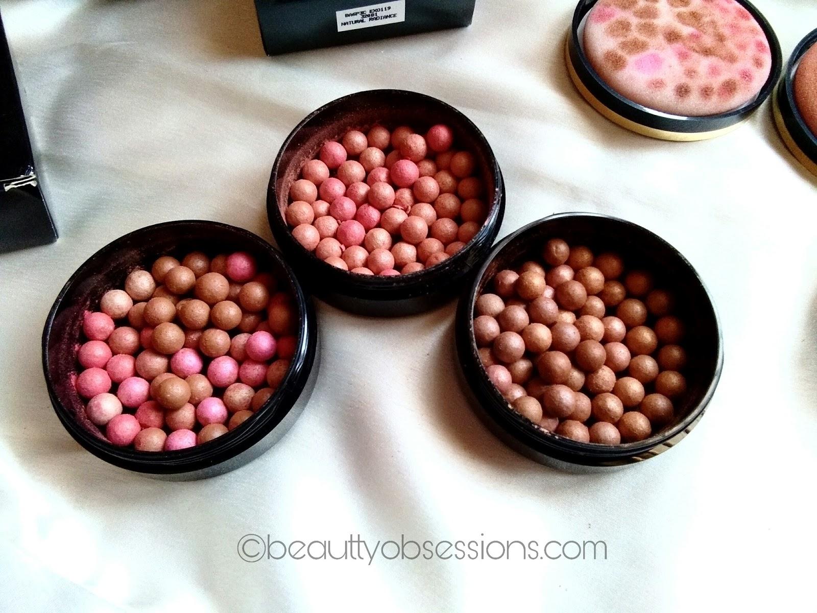 oriflame giordani gold bronzing pearls all the three shades