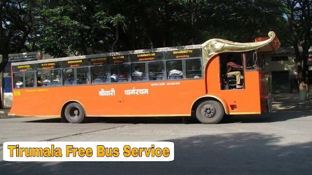 TTD Free Bus Service in Tirumala