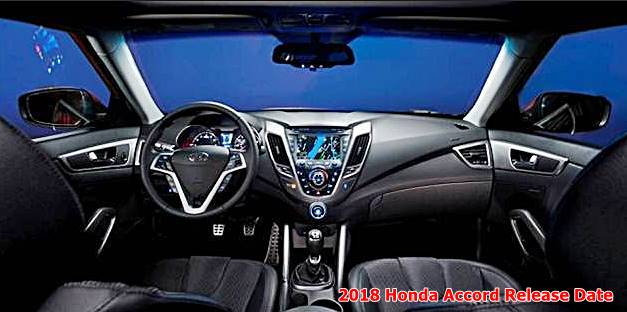 2018 Honda Accord Interior Design Release Date