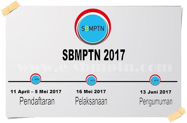 Jadwal lengkap SBMPTN