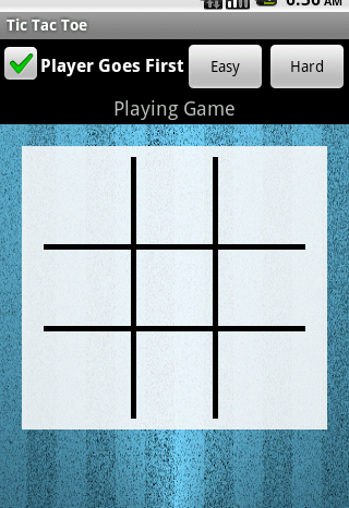 Android Dom: Android Tic Tac Toe Part 3
