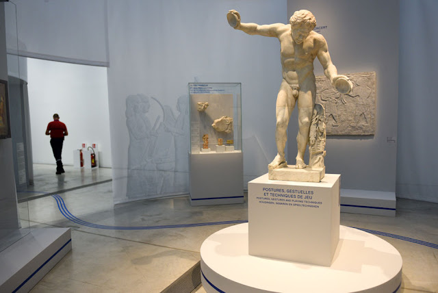 'Music! Echoes of Antiquity' at the Louvre-Lens Museum, France