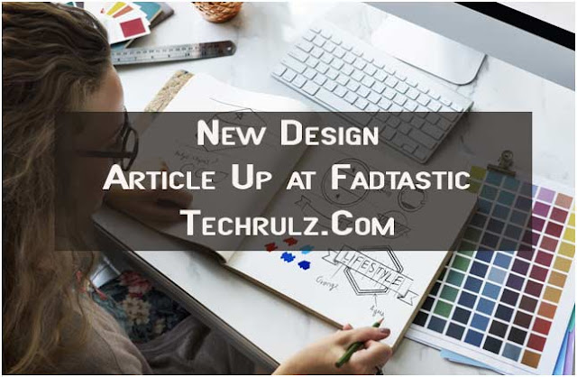 New Design Article Up at Fadtastic