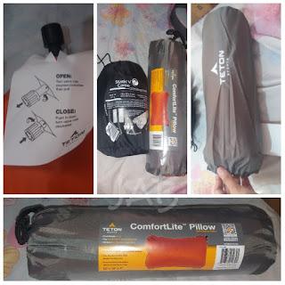 TETON Sports ComfortLite Self Inflating Pillow