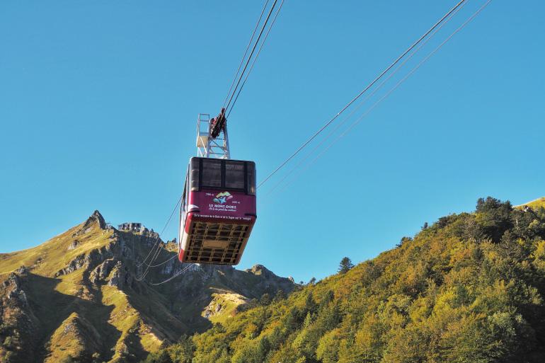 Téléphérique au Puy de Sancy