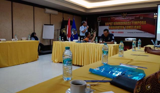 Koordinasi rencana pembentukan Tim-Pora Lumajang