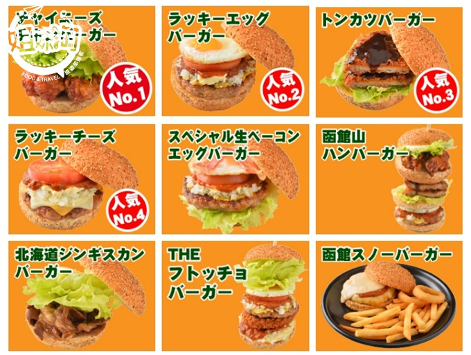 小丑漢堡菜單