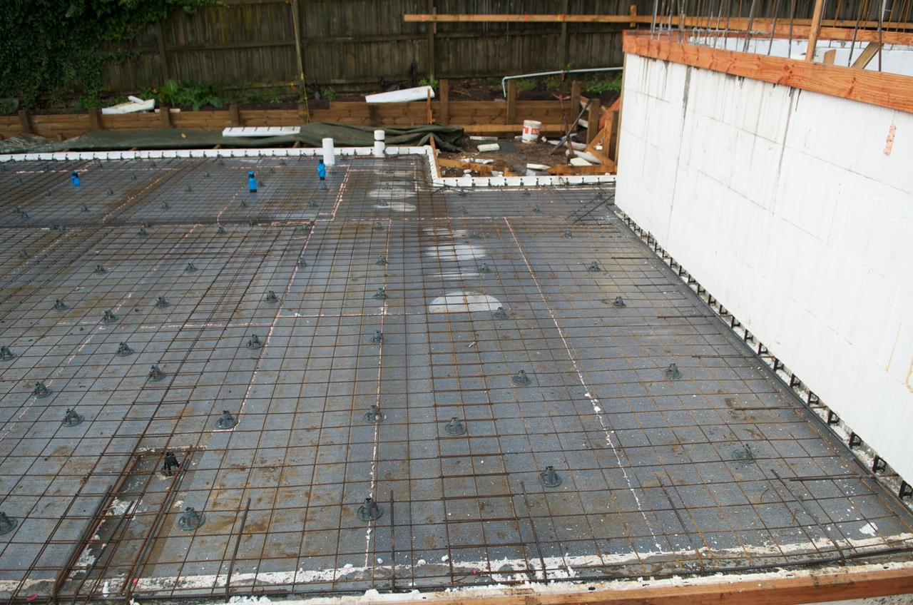 Floor Slab First Pour The New Zealand S First Passive