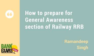 General Awareness section of Railways RRB