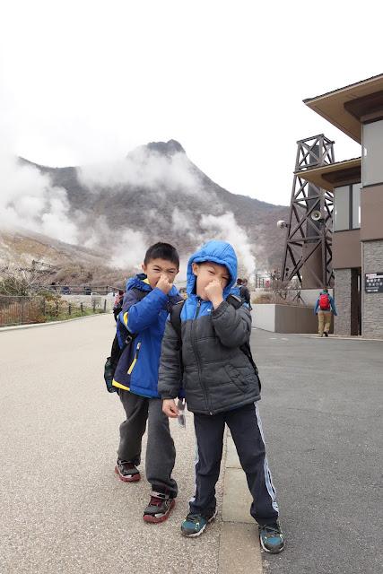 Hakone travel with kids