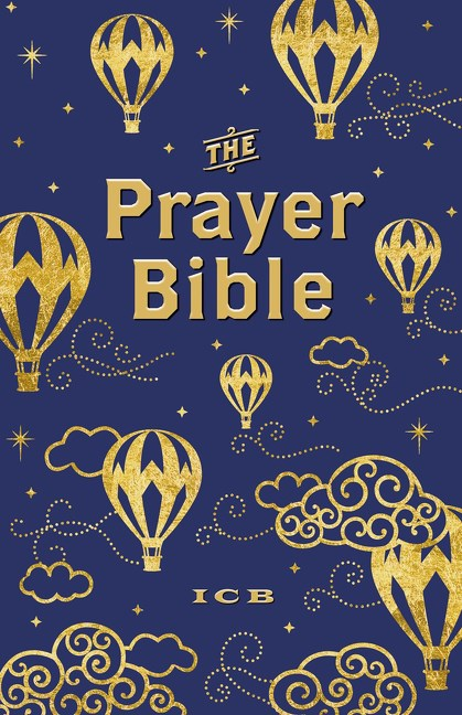 Blue and Gold ICB Prayer Bible For Children #ICBPrayerBible