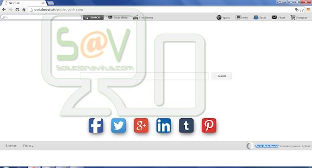 Socialmedianewtabsearch.com (Hijacker)