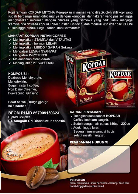 Apa manfaat kopi kopdar mitoha