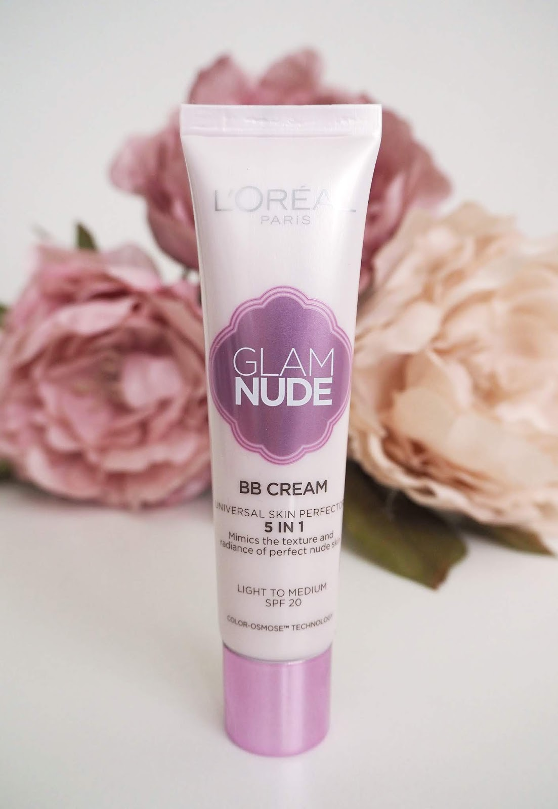 L'OREAL PARIS GLAM NUDE BB CREAM 5in1 recenze