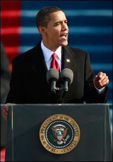 Obamas inaugural speech