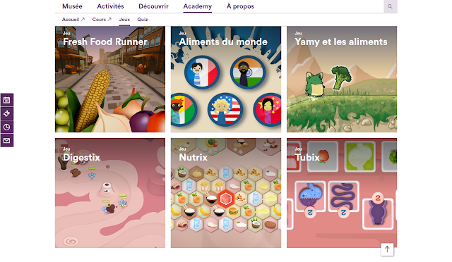 jeux gratuits alimentation nutrition android apple