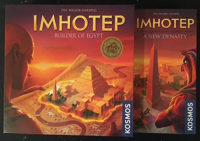 Everything Board Games Imhotep: A New Dynasty Review | Imhotep: A