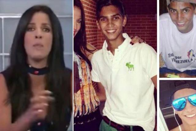 Tuiteros reventaron a Annarella Bono por el mensaje que dedicó a su sobrino César Pereira, muerto en protesta