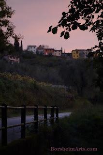 Sunrise in Tuscany, Italy