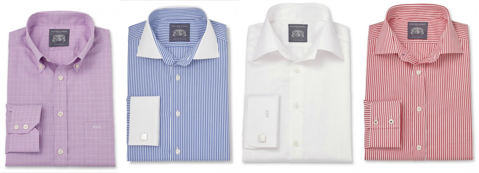 Made To Measure Shirts With The Savile Row Company That