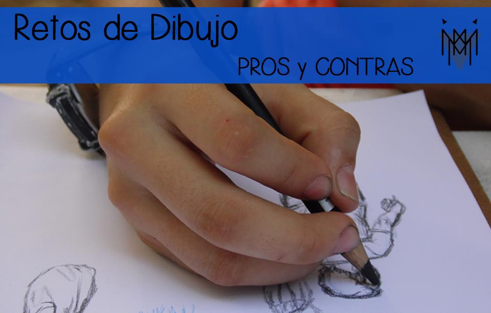 Retos de dibujo pros y contras for Hormigon impreso pros y contras