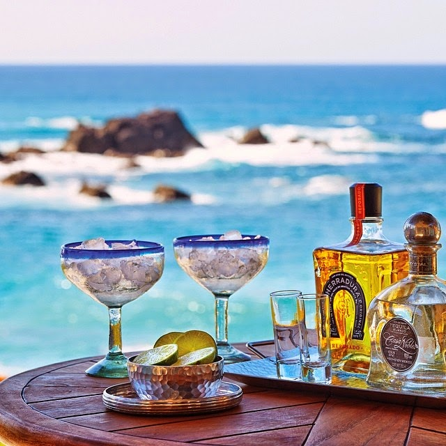 Margarita served at  Four Season's Punta Mita