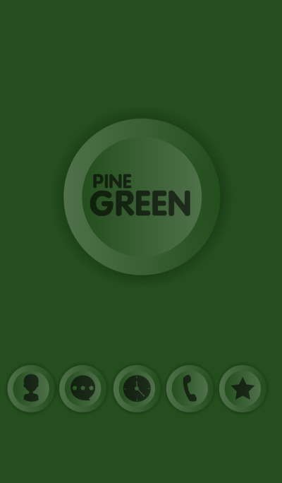 Simple Pine Green Button theme (JP)