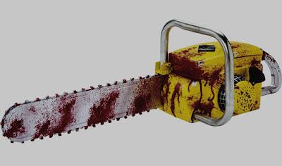 Suicídio cortando a própria cabeça