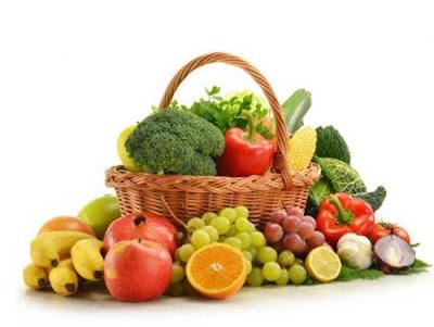kết hợp trái cây với rau củ ngày 3 của chế độ giảm cân