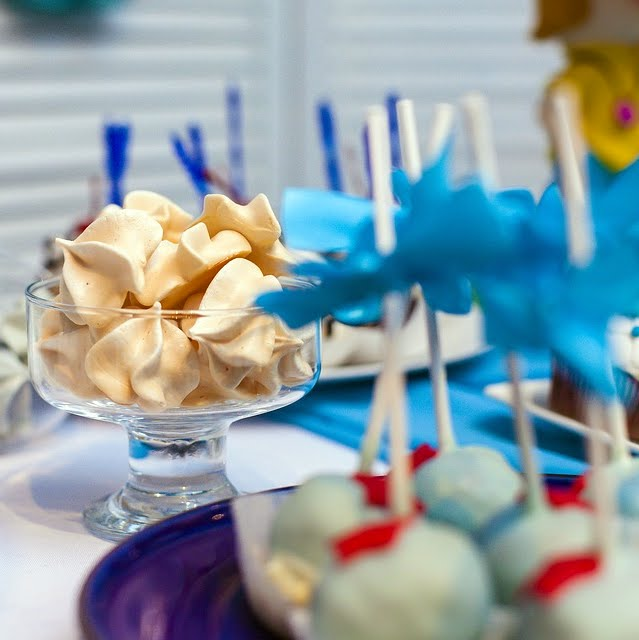 Candy bar azul