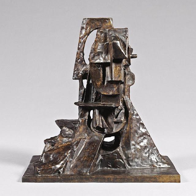 Otto Gutfreund Cubist bust