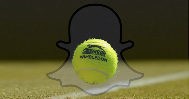 Wimbledon ficha a Snapchat