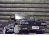 Bolha VW Saveiro quadrada bolhapoint 180mm  Escala 1/10