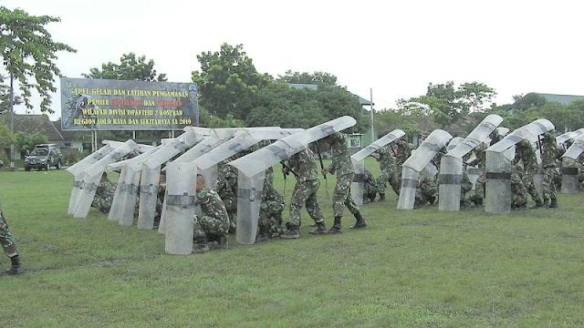 Yonarmed 12 Kostrad Siap Kawal Pemilu di Ngawi