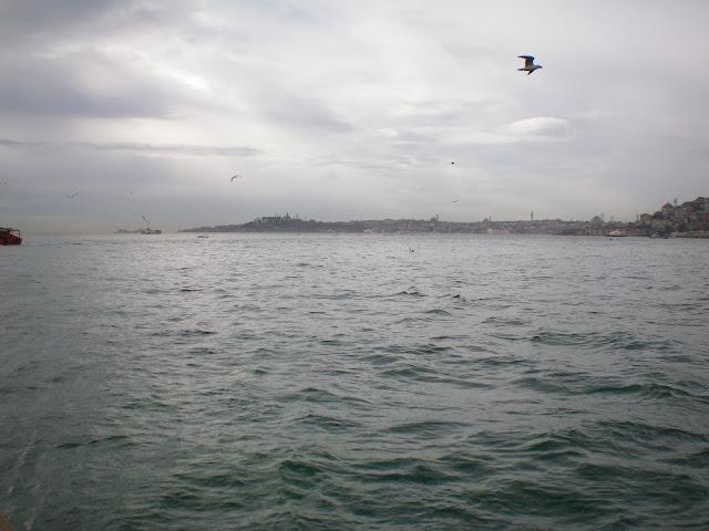Vistas de Estambul desde el canal del Bósforo