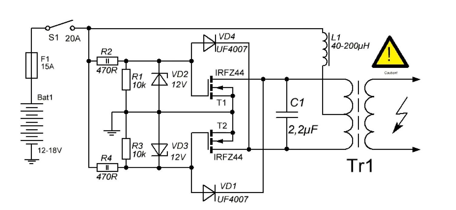 Membuat Pemanasan dengan system induksi ( Induction Heater ) sederhana