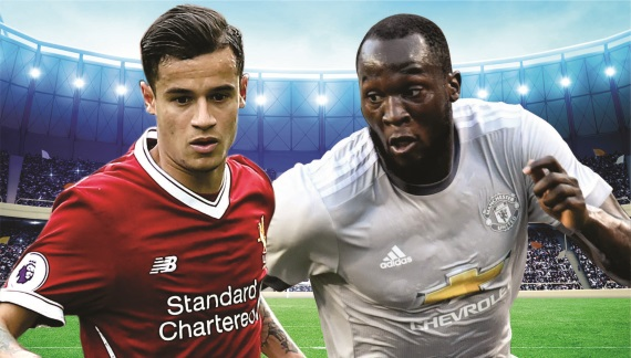 Arch rivals Liverpool and Manchester United clash at Anfield in Saturday's early kick-off