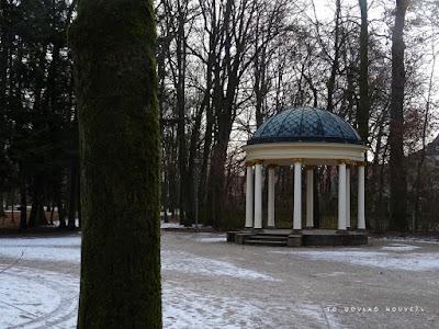 Μνημείο στο αυτοκρατορικό πάρκο στο Μπαϊρόιτ / Monument in the royal park of Bayreuth